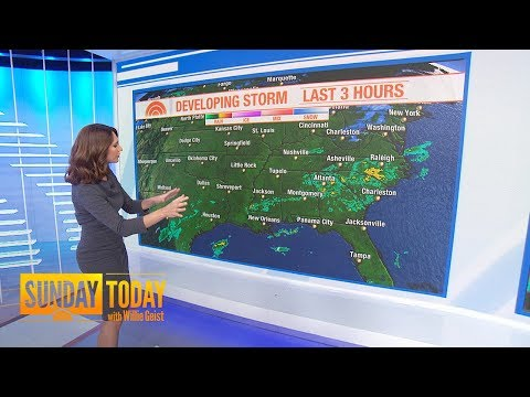 New Year's Eve Winter Storm Could Drench Millions | Sunday TODAY