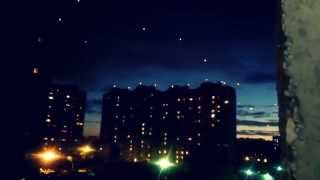 Запуск фонариков в Балашихе.Фонари флешмоб Балашиха.