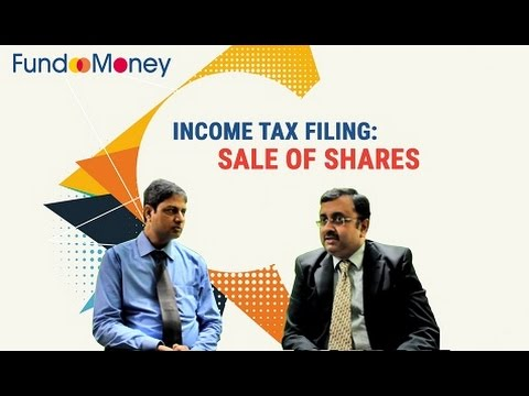 Income Tax Filing: Sale of Shares