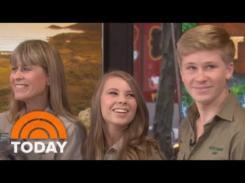 The Steve Irwin Family Joins Today With Some New Furry Friends | TODAY