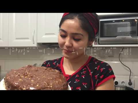 """Очень простой торт """"Сникерс"""" 😋"""