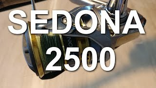 sedona 2500 FI   Shimano Review