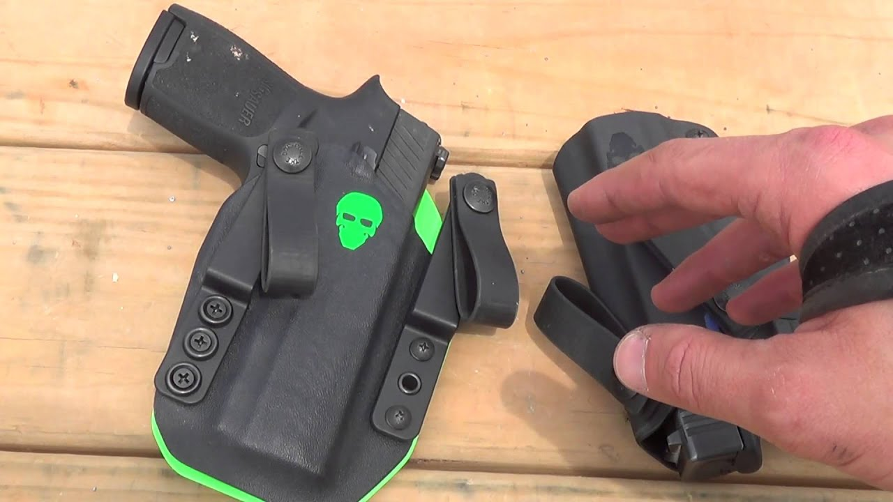 The BEST SIG P320 Holster: Green Force Tactical