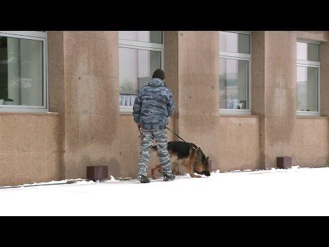 Эвакуация Администрации города Тюмени