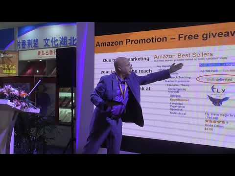 Netanel Semrik from Beijing 2018 books fair lectures, on how to become a best seller