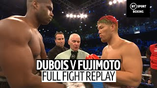 Daniel Dubois vs Kyotaro Fujimoto full fight replay | Devastating knock-out!