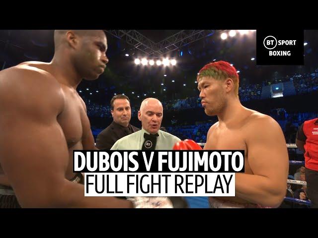 Daniel Dubois vs Kyotaro Fujimoto full fight replay   Devastating knock-out!