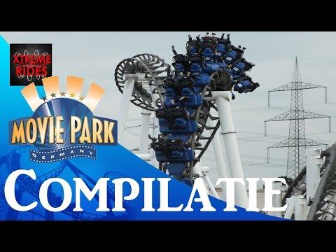 Compilatie Movie Park Bottrop Germany