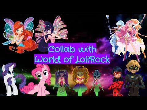 (LoliRock, Miraculous, Winx, MLP) - No Lie - (Collab with World of LoliRock)- Kwami PonyRock