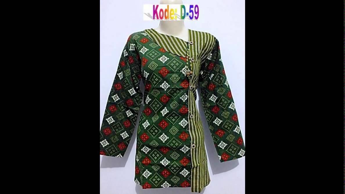 model baju kerja batik untuk wanita free ongkir seluruh wilayah