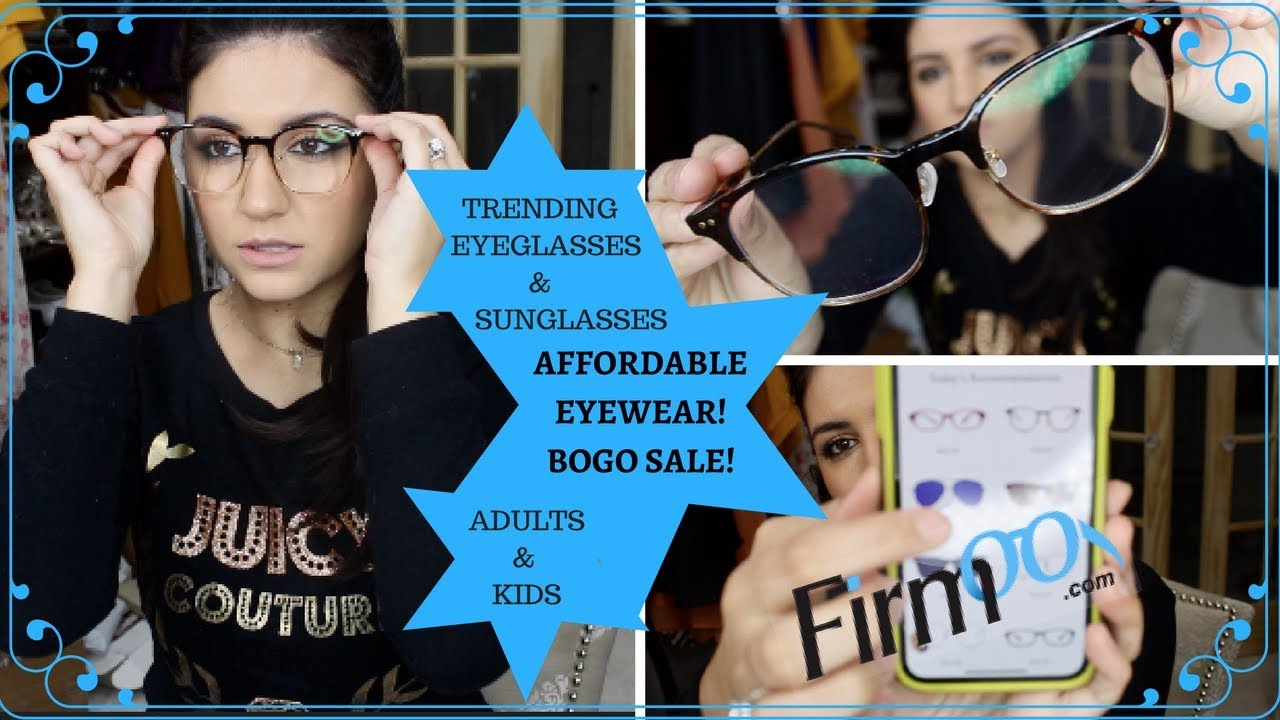 de345c753e Firmoo Try On- Eyewear Review- BUY ONE GET ONE FREE! - YouTube