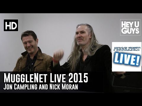 Jon Campling and Nick Moran Interview - MuggleNet Live 2015