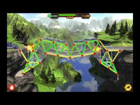 Simulasi jembatan runtuh tanpa perhitungan