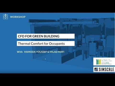 CFD Simulation for Green Building Design with QGBC - S2