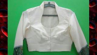 HALTER NECK DESIGN ( HIGH NECK COLLAR ) CUTTING AND STITCHING