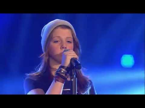 Angelic Voice! Liv sings 'Not about angels' by Birdy - The Voice Kids - Blind Audition