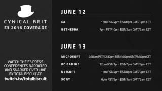 TotalBiscuit's E3 Snarkathon