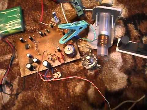 Громкоговорящий ППП на германиевых транзисторах - US5MSQ
