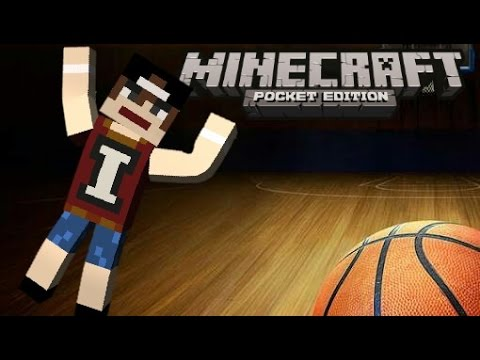 How to make basketball court minecraft pocket edition for How to build a basketball court