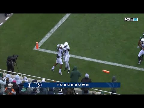Hamilton Finds End Zone vs. Michigan State