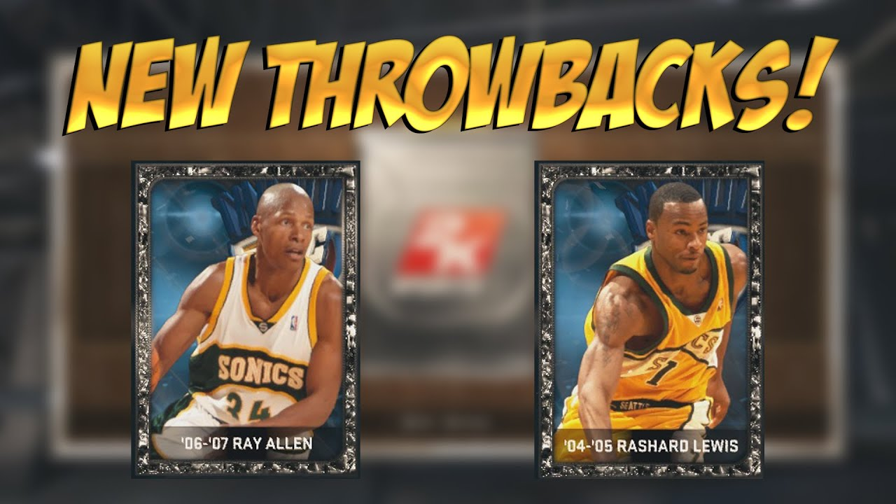NBA 2K15 MyTEAM ONYX RAY ALLEN & RASHARD LEWIS NBA 2K15 My Team