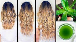 Olejek aloesowy sprawił, że moje włosy zaczęły rosnąć 2x szybciej