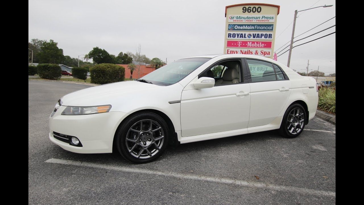 SOLD Acura TL Type S One Owner Meticulous Motors Inc Florida - Acura type s for sale