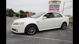 SOLD 2008 Acura TL Type S One Owner Meticulous Motors Inc Florida For Sale
