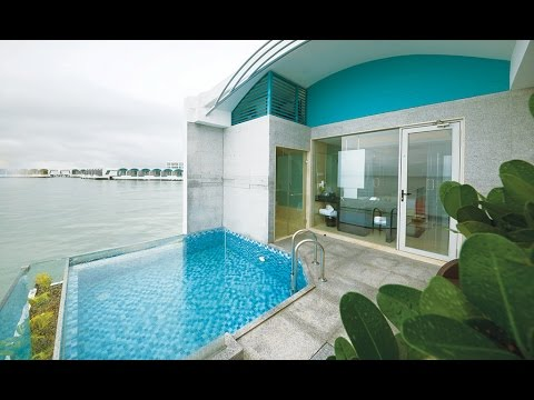 (One of the world's best resort) Sea view and hotel room view of Lexis Hibiscus Port dickson resort
