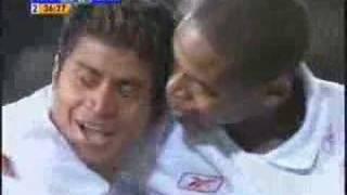 Internacional 1 x 0 Barcelona. Gol de Adriano