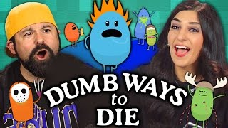 Download DUMB WAYS TO DIE GAME (Adults React: Gaming) Mp3 and Videos