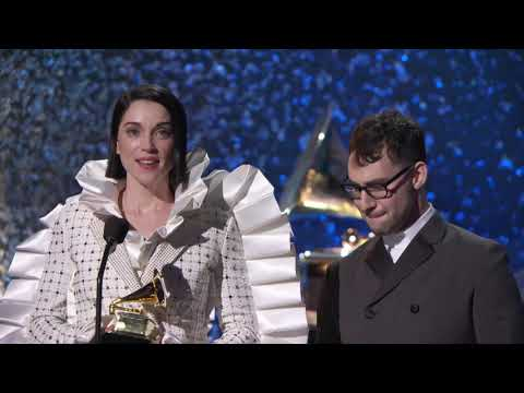 St Vincent & Jack Antonoff Win Best Rock Song | 2019 GRAMMYs Acceptance Speech Mp3
