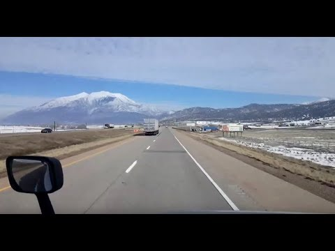 BigRigTravels LIVE! St. George to Nephi, Utah Interstate 15 North-Jan. 29, 2019