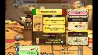 Monopoly Gameplay (Wii)