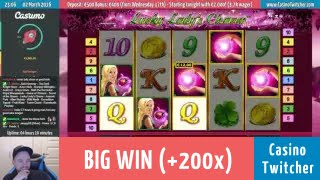 Lucky Lady's Charm - BIG WIN - Bet size: €0.80(, 2016-03-03T15:40:12.000Z)