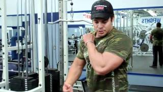 "Tricep Push Downs - the ""Right Way"" for Big Arms!"
