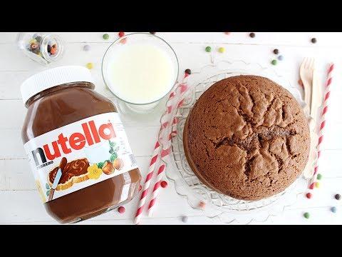 TartaFantasía: Bizcocho de Nutella