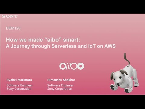 AWS re:Invent 2018: [NEW LAUNCH!] A journey thru Serverless & IoT, a view of AWS RoboMaker (DEM120)