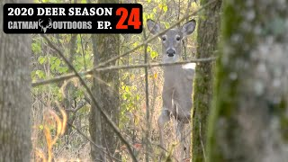 NOSY DOE GETS IT + found another killer spot! - 2020 Deer Season Ep 24