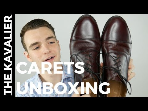 Carets Minimalist Dress Shoes Unboxing 3 Weeks Of Wear Review