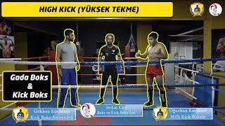 High kick nasıl atılır? / Yüksek seviye dairesel tekme / High roundhouse kick