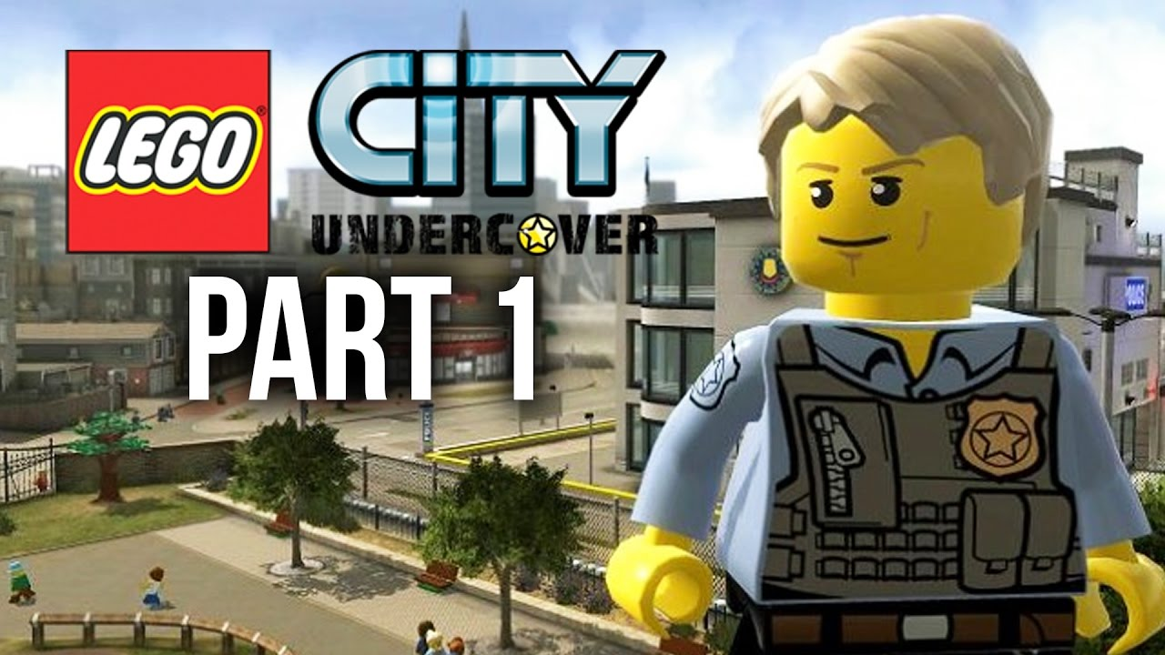 Lego City Undercover Ps4 Gameplay Walkthrough Part 1 Intro Youtube