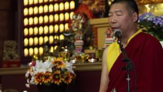 Teaching of Drikung Phowa (4) / 直貢頗瓦教授(4) by Lama Thubten Nima