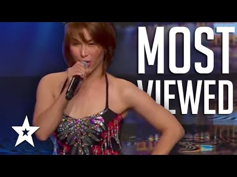 MOST VIEWED Auditions on Asia's Got Talent   Got Talent Global