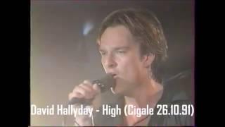 David Hallyday - High (Live Cigale 26.10.1991)