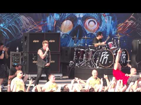 Papa Roach Still Swingin  @ Rock On The Range 2013 5182013