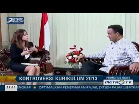 Wawancara Mendikbud Anies Baswedan Tentang Penghentian Kurikulum 2013 (Bagian 1)