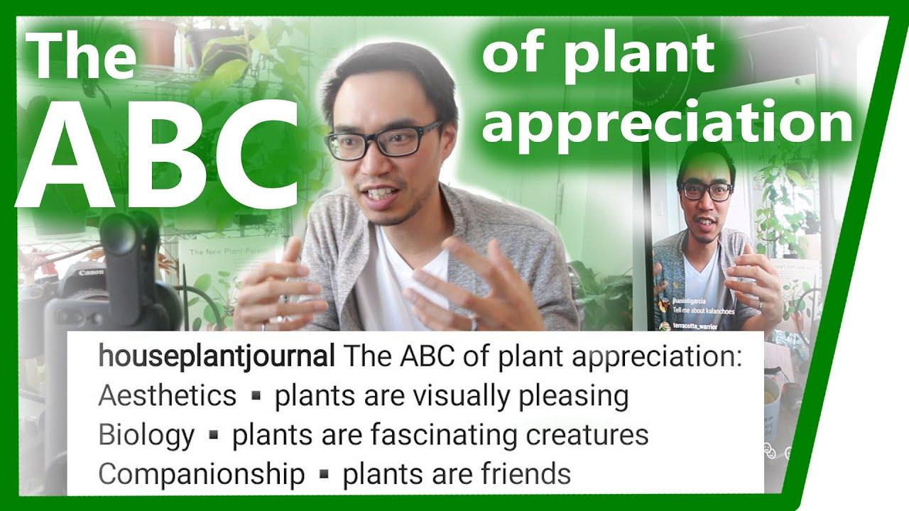 The ABC of Plant Appreciation