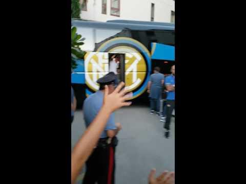Arrivo Inter a jesi presso hotel federico II 09/08/2016