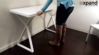 Mondrian Folding enlarging console table